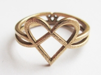 ring woven hearts 2